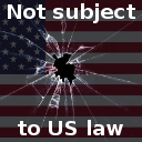 Not subject to US Law